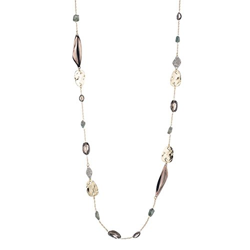 Alexis Bittar Chocolate Station Necklace, 10K Gold ()