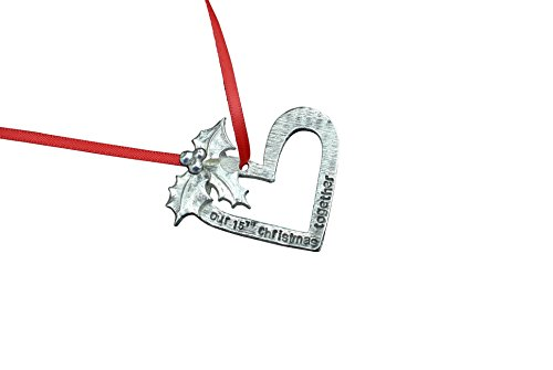 15th Anniversary Christmas Tree Ornament - Our 15th Christmas Together by Pirantin (Image #4)