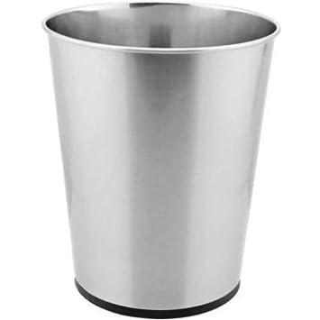 Stainless Bath 5L Waste Trash Can Bin Open
