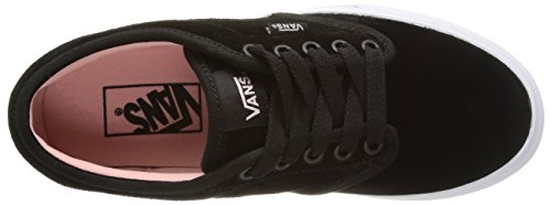 Vans W Atwood Weather Suede - Zapatillas bajas para mujer Negro - Black (weather Suede/black/english Rose)