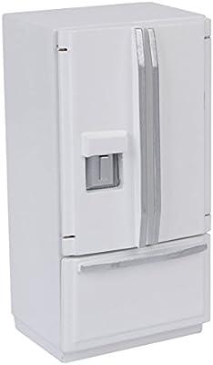 Amazon.es: REFURBISHHOUSE 1:12 Refrigerador De Madera En Miniatura ...