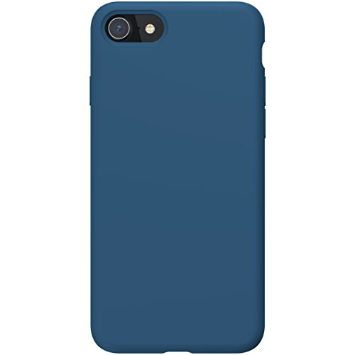 PowerBear iPhone 8/7 Silicone Case | Rubber Shock Absorption Case - Navy