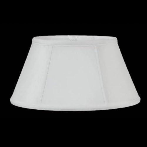 Upgradelights 16 Inch Bouillotte Lamp Shade Eggshell Silk Type Design