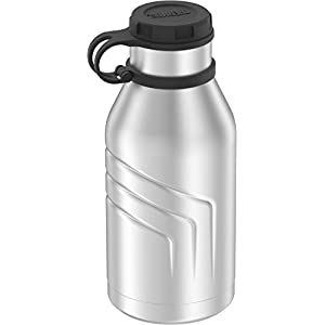 Thermos Element 5 Vacuum Insulated 32 oz Beverage Bottle with Screw Top Lid, Stainless Steel