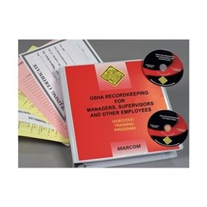 Marcom Group V0000189SO OSHA Recordkeeping Package, DVD Training, Spanish