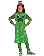 Minecraft Creeper Girl Classic Child Costume