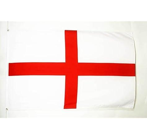 AZ FLAG Bandera de Inglaterra 90x60cm - Bandera INGLÉSA - Cruz DE San Jorge 60 x 90 cm: Amazon.es: Hogar