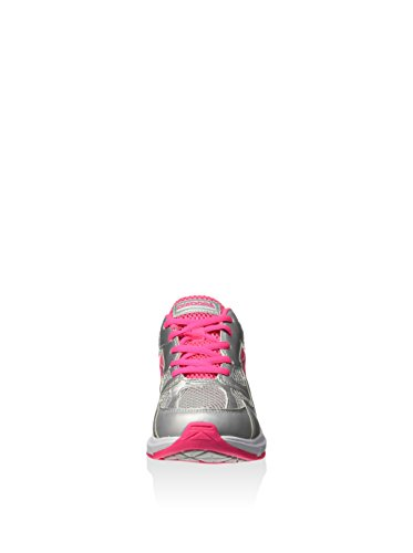 Diadora Zapatillas Shape 5 Jr Plata/Rosa Flúor EU 36.5 (4 UK)