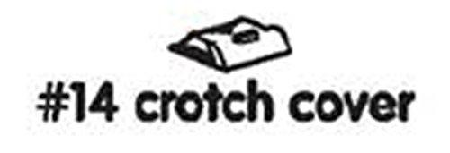 /Protectora Color Blanco/ Para Notebook para trona Bloom Fresco/ /# 14/crotch Cover White