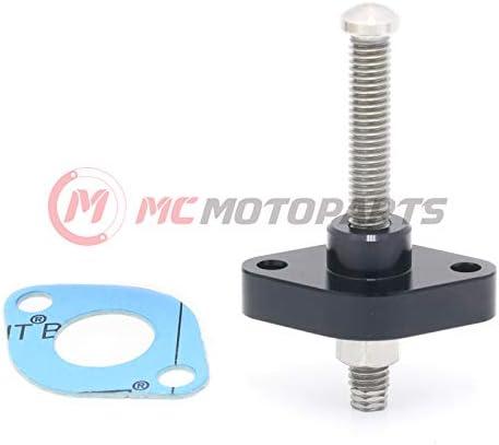 MC MOTOPARTS CNC HP Tensor de cadena de levas manual para ATV Yamaha YFM 700 660 600 550 Grizzly YFM 700 660 Raptor