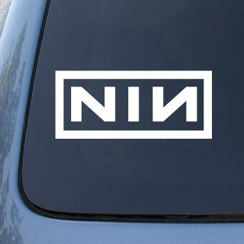 Nine Inch Nails Stickers - 4