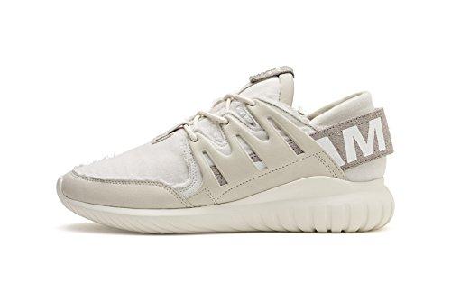 Adidas Menns Rørformet Nova Slam Jam Hvit / Hvit Bb5749