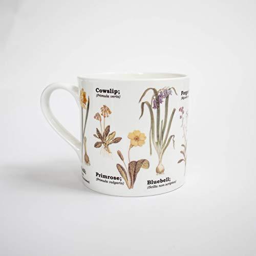Gift Republic Wild Flower China Mug, Multicolor