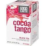 GOOD EARTH TEA BLK HRBL COCOA TANGO, 18 BG