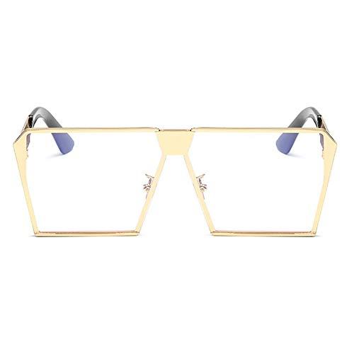 Protection Soleil Femmes Lunettes Rétro Option en goldenframetransparent pour Multicolore UV400 Et Hommes De UV 0q5qYwA