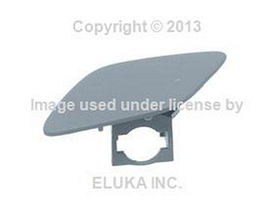 BMW Genuine Cover Flap - Headlight Washer on Bumper Cover (Primered) Front Left for 328i 328xi 335i 335xi 328i 335i