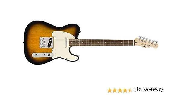 Fender Squier Bullet Telecaster LRL Brown Sunburst. Guitarra ...