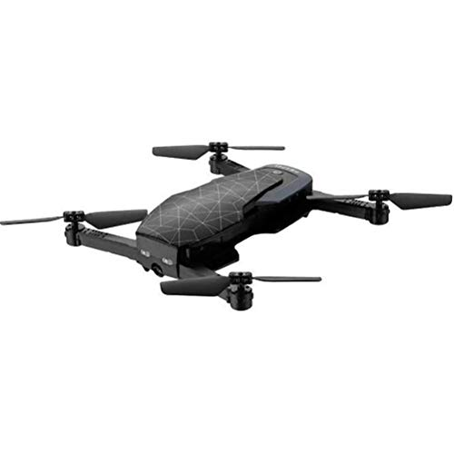 Propel Snap 2.0 Compact Folding Drone with HD Camera, Black