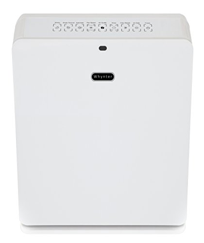 Whynter - EcoPure Personal Air Purifier - Pearl AFR-425-PW