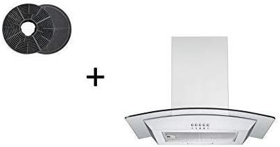 respekta CH0160IXB+MIZ0058 - Campana extractora (60 cm, incluye filtro de carbón activo): Amazon.es: Grandes electrodomésticos