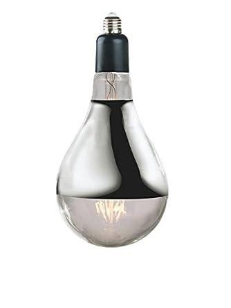 Nostalgia luces PS52 - 8LED. E40. SLVR. SPT Industrial Edison, bombilla LED, Plata, Vidrio, E40, 80 W: Amazon.es: Iluminación