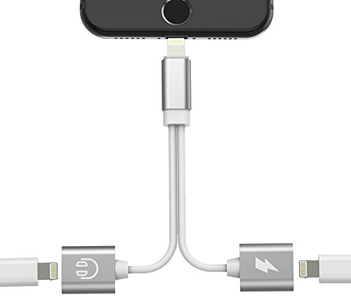 Cheap Cables & Interconnects B. AJ004 iPhone 7/7 Plus Adapter, Accessories 2 in 1 Lightning Adapter..
