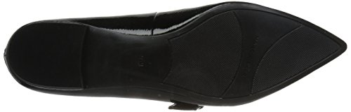 Marc Fisher Womens Alen Mary Jane Nero Piatto
