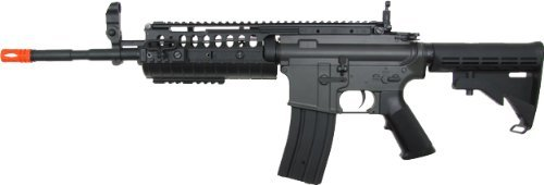 jg m4a1 s-system aeg electric airsoft gun - black(Airsoft - Airsoft Jing Gong