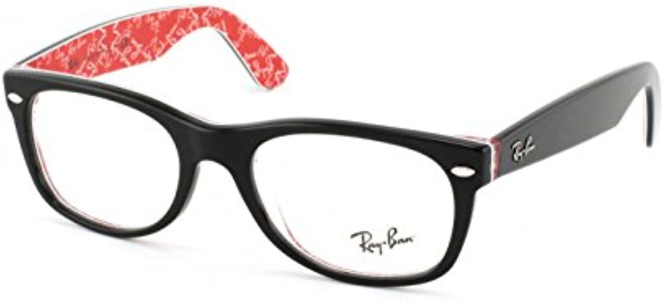 Ray-Ban RX 5184 NEW WAYFARER 2479 52/18 - Gafas de vista, color negro: Amazon.es: Ropa y accesorios
