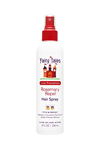 Fairy Tales Rosemary Repel Hair Spray, 8 Fluid Ounce (Pack of 12) by Fairy Tales