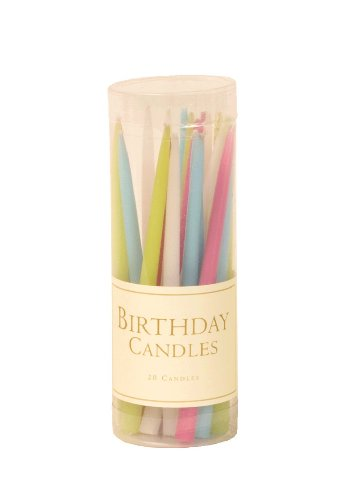 entertaining-with-caspari-3-inch-birthday-dripless-smokeless-unscented-candles-pastels-set-of-20