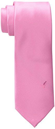 Susan Komen Breast Cancer (Susan G. Komen Men's Solid Logo Tie, Pink, One Size)