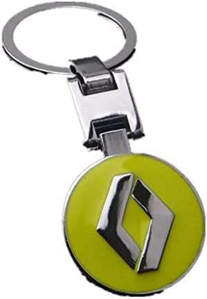 Silver Metal Chrome Finish Car Logo Emblem Keychain for Key Rings, Lanyards, Backpacks - 2724654593210