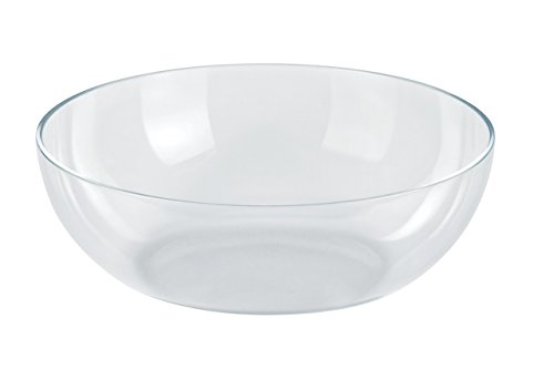 "Alessi ESI01/25BW""Mediterraneo"" Bowl in Thermoplastic Resin, Transparent"