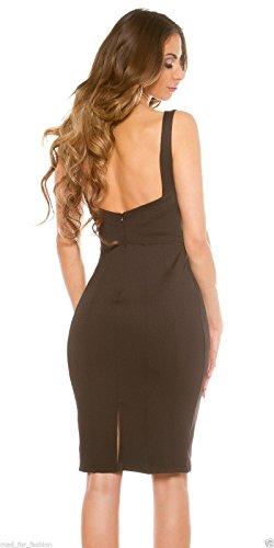 Koucla - Vestido - ajustado - para mujer negro
