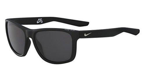 Sunglasses NIKE FLIP P EV1041 001 MATTE BLACK W/GREY POLARIZED - Sunglasses Nike Prescription