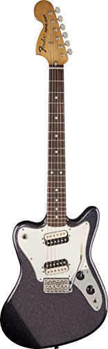 Fender Pawn Shop Super-Sonic Electric Guitar, Gunmetal Flake