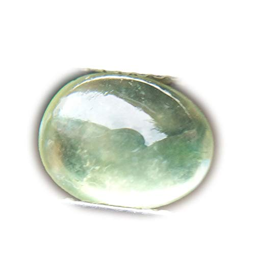 Lovemom 2.07ct Natural Cabochon Unheated Green Prehnite Madagascar #PU ()