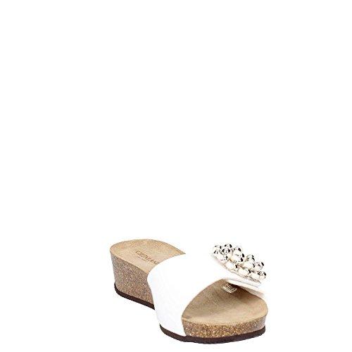 Ciabatta Sandalo Anin Grunland Bianco Cb1479 Ecovernice PwTqgZx