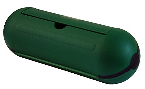 hot-headz-extension-cord-safety-seal-water-resistant-cord-cover-825-x-3-x-3-inch-green