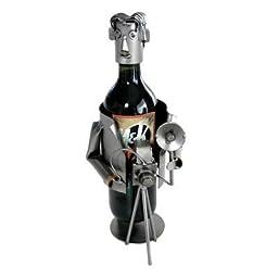 Photographer Wine Bottle Holder