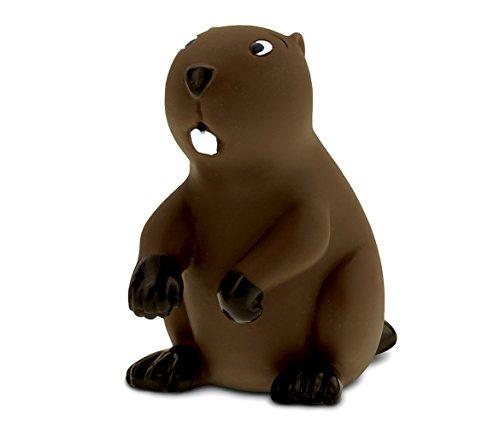 DolliBu COTA Global Bath Buddies Brown Beaver - 3 Inch - Squirter Bath Toy - Item #2797