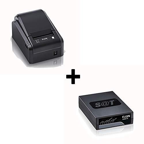 Kit SAT Fiscal Elgin Linker II + Impressora Não Fiscal Elgin i7 (USB)