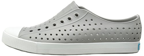 Native Shoes Jefferson Water Shoe Pigeon Grey/Shell White 3 Men's (5 B US Women's) M US by Native Shoes (Image #5)