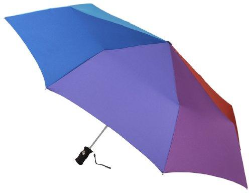 Totes Signature SuperDome Umbrella Rainbow