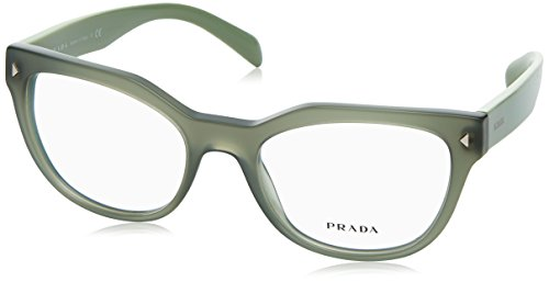 Prada Unisex 0PR 21SV Opal Green One - Women Name Glasses For Brand