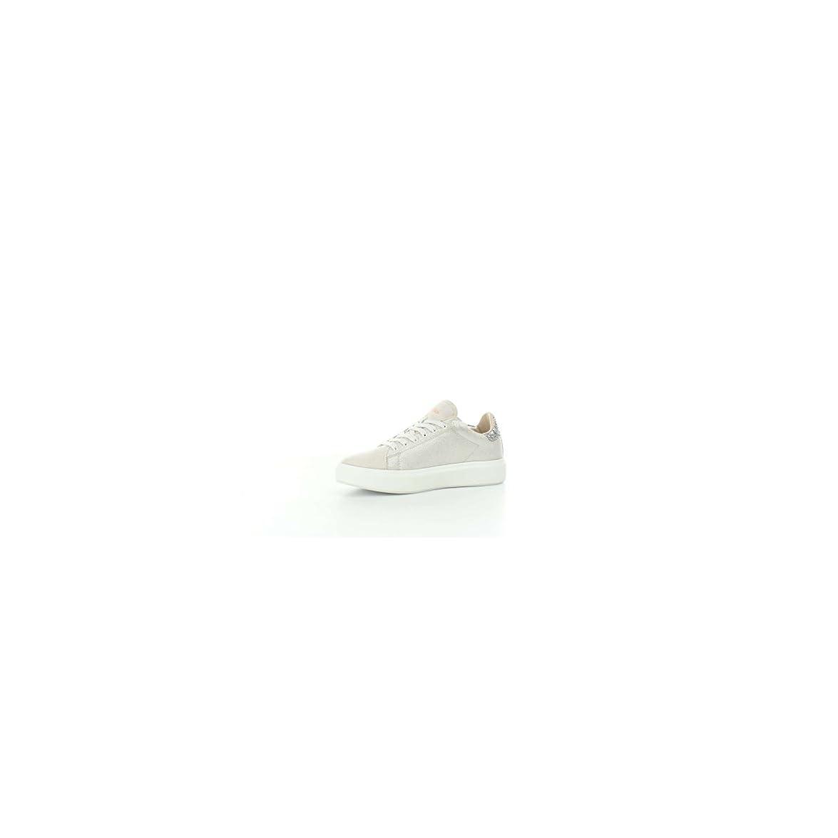 Lotto Leggenda Donna Impressions Denim W Pelle Sneakers Grigio 39 Eu