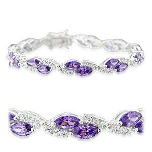 West-Indies-Bijoux - Bracelet Femme 21cm - Argent 925 avec Poinçon - Bracelet Fiorella - Garantie à Vie