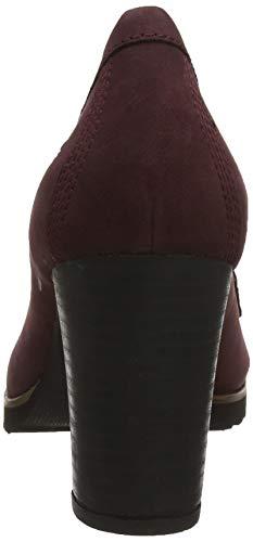 Dark C60 Timberland Rosso Mocassini Nubuck Donna Leslie Anne Port q6qw8pXx