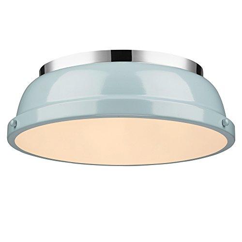 Golden Lighting Duncan 3602-14 Flush Mount Light